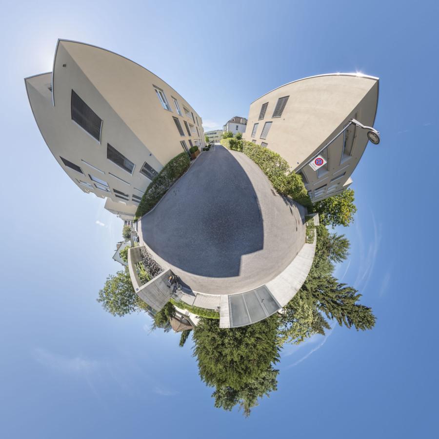 Kugelpanorama arkitektur stucki